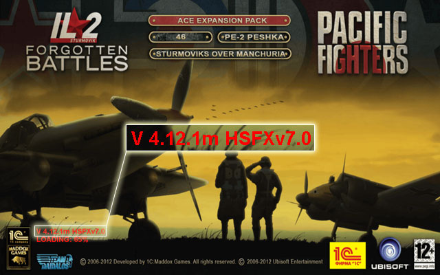 Switch to IL-2 version 4.12.1 + HSFX7